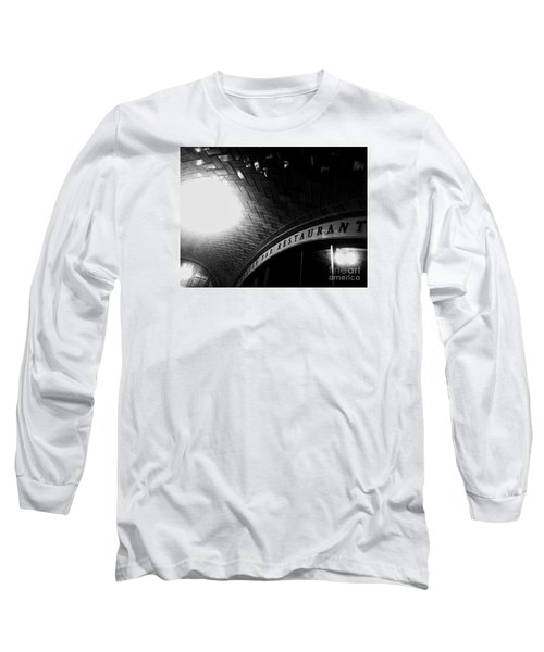 Oyster Bar At Grand Central Long Sleeve T-Shirt