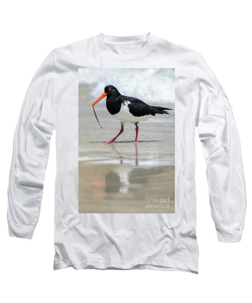 Oystercatcher 03 Long Sleeve T-Shirt
