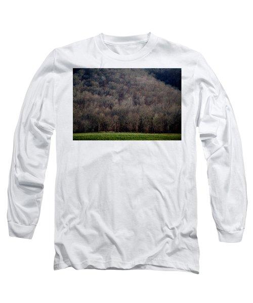 Ozarks Trees Long Sleeve T-Shirt