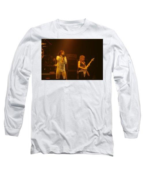Ozzy Ozbourne And Randy Rhoads Long Sleeve T-Shirt