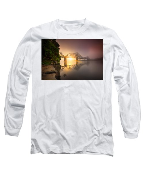 Railroad Bridge Long Sleeve T-Shirt
