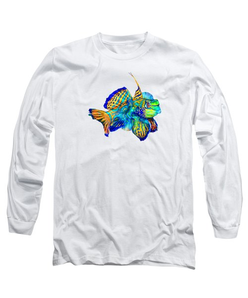 Pacific Mandarinfish Long Sleeve T-Shirt