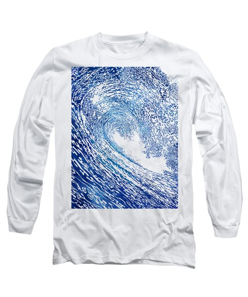 Pacific Waves Iv Long Sleeve T-Shirt