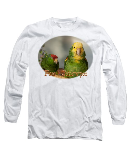 Paco And Chick-e-poo Long Sleeve T-Shirt