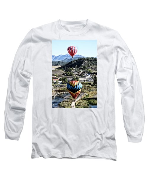 Pagosa Springs Colorfest 2015 Long Sleeve T-Shirt by Kevin Munro