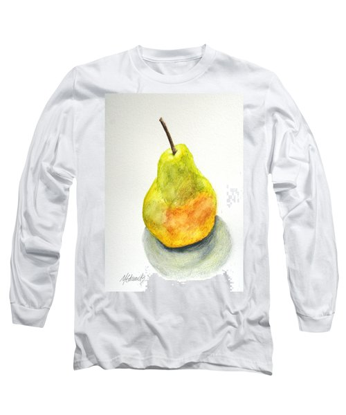 Paint Before Eating Long Sleeve T-Shirt by Marna Edwards Flavell