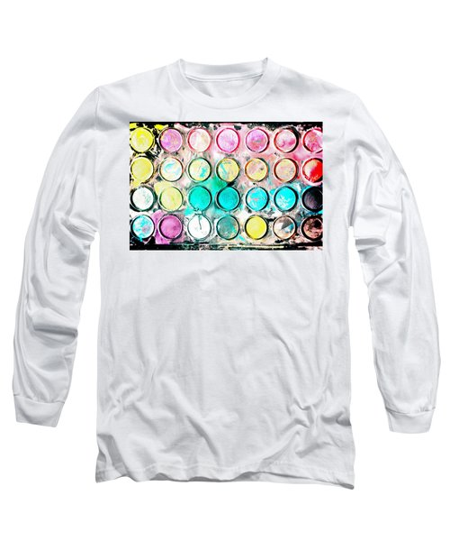 Paint Colors Long Sleeve T-Shirt