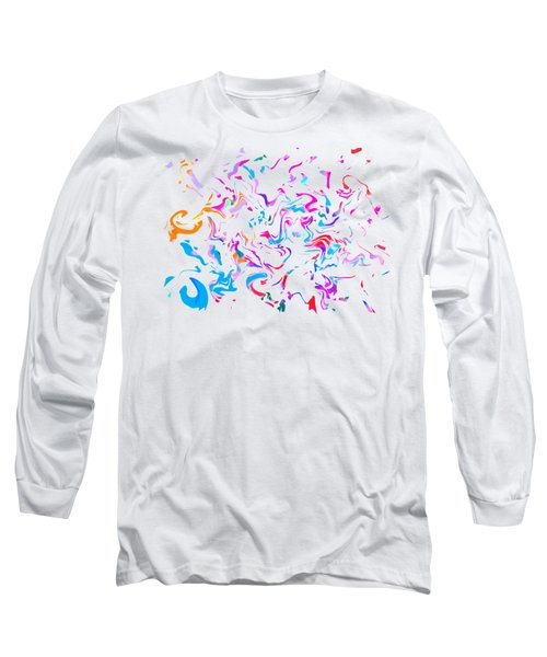Paint Experiment 033 Long Sleeve T-Shirt