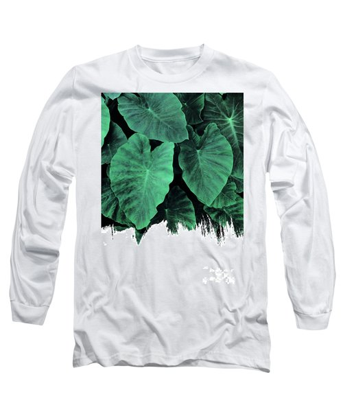 Paint On Jungle Long Sleeve T-Shirt