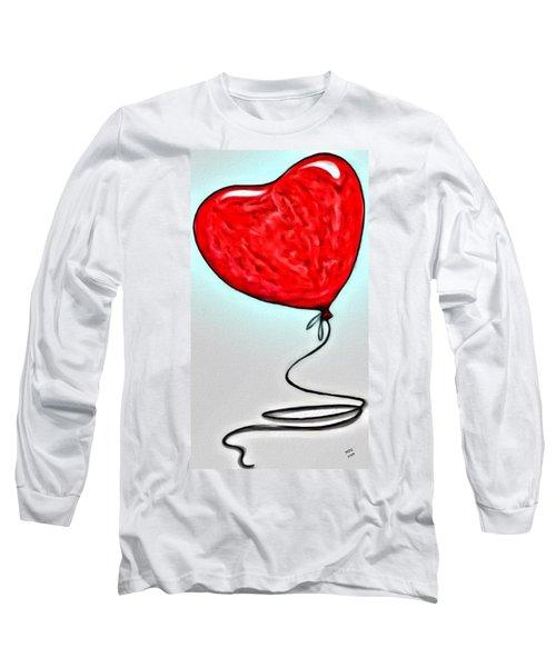 Painted Heart Long Sleeve T-Shirt