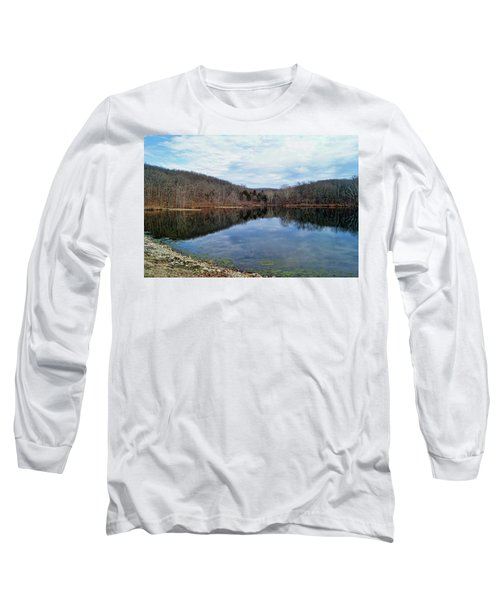 Long Sleeve T-Shirt featuring the photograph Painted Rock Conservation Area by Cricket Hackmann