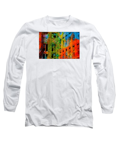 Painted Windows Long Sleeve T-Shirt