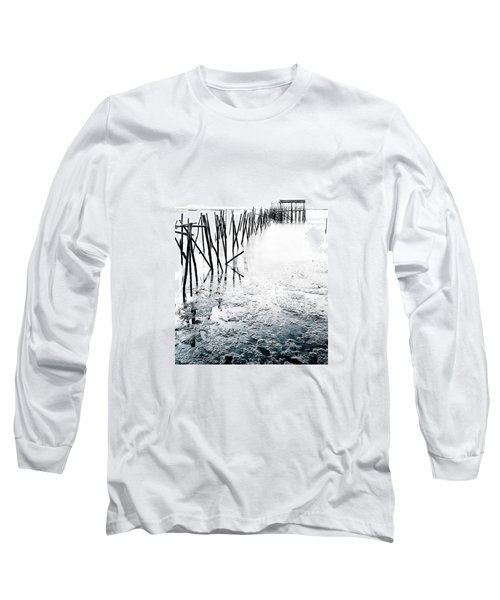 Long Sleeve T-Shirt featuring the photograph Palafitico by Edgar Laureano