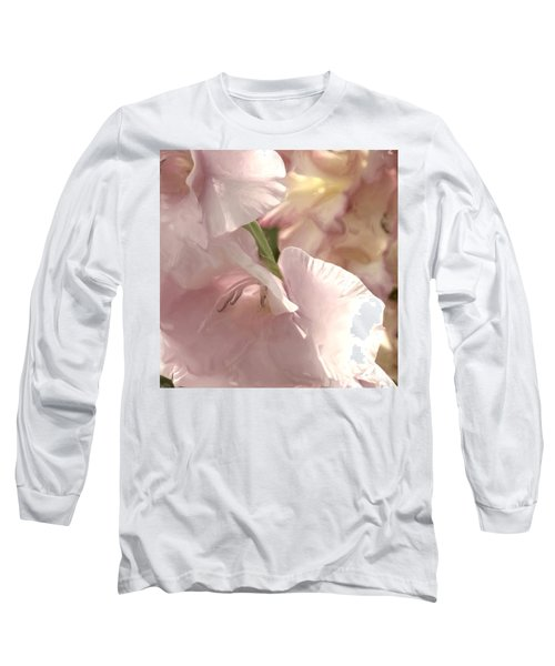 Pale Pink Glads Long Sleeve T-Shirt