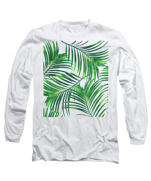 Palm Paradise Long Sleeve T-Shirt