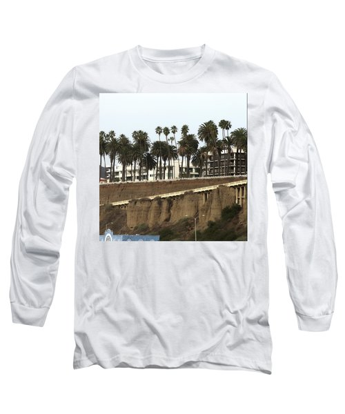 Palm Trees And Apartments Long Sleeve T-Shirt
