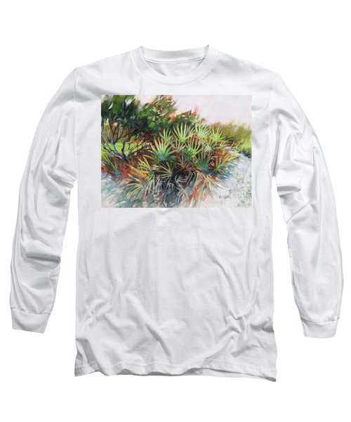 Palmetto Dance Long Sleeve T-Shirt by Mary Hubley
