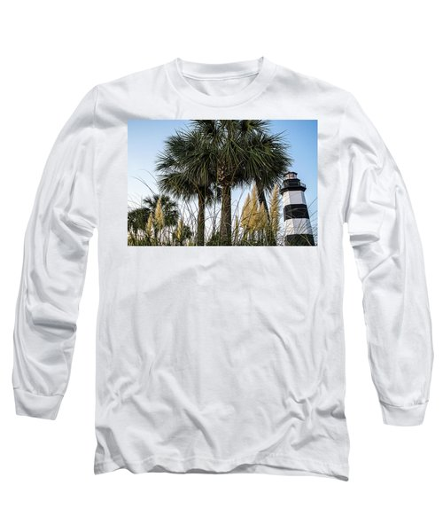 Palms At Lightkeepers Long Sleeve T-Shirt