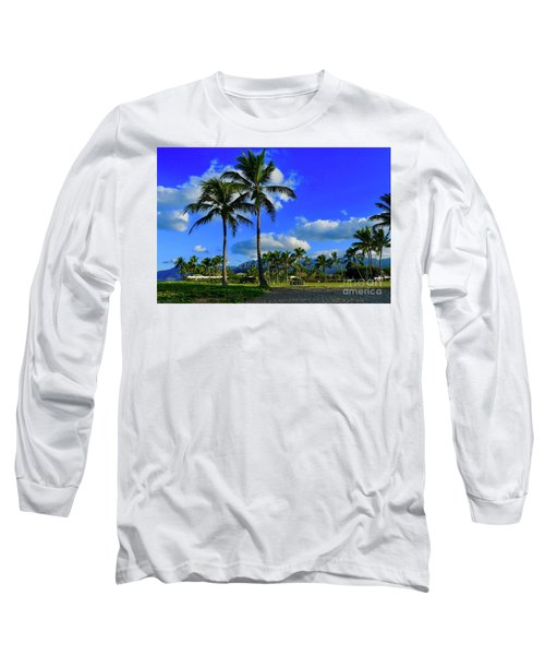 Palms In The Morning Long Sleeve T-Shirt