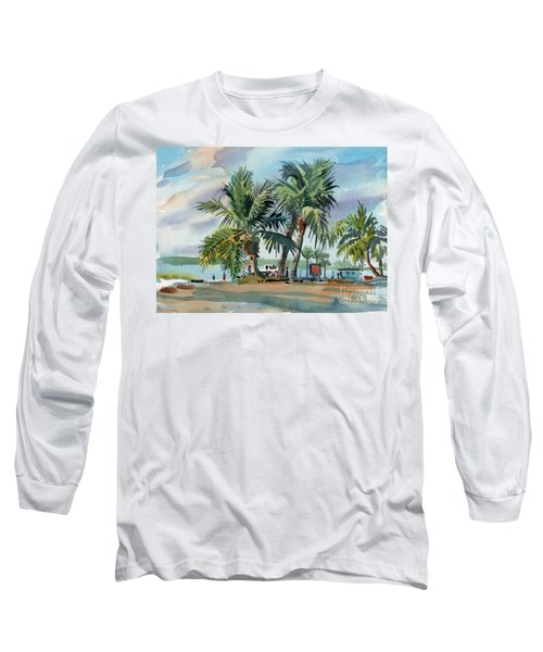 Palms On Sanibel Long Sleeve T-Shirt