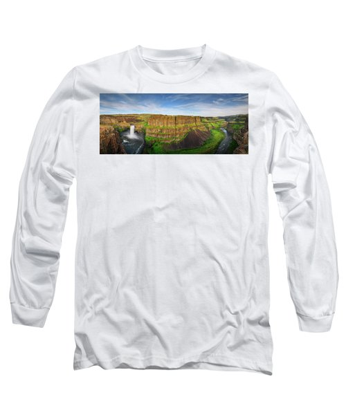 Palouse Falls Canyon Long Sleeve T-Shirt