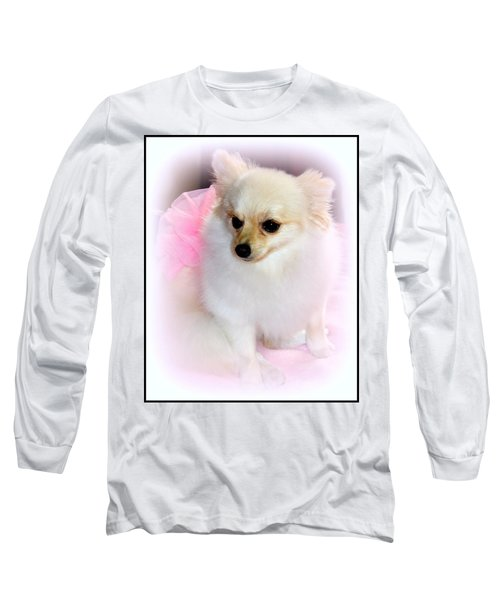 Pampered Pomeranian  Long Sleeve T-Shirt