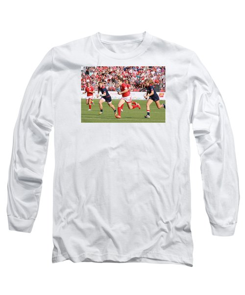 Panam Games. Womens' Rugby 7's Long Sleeve T-Shirt