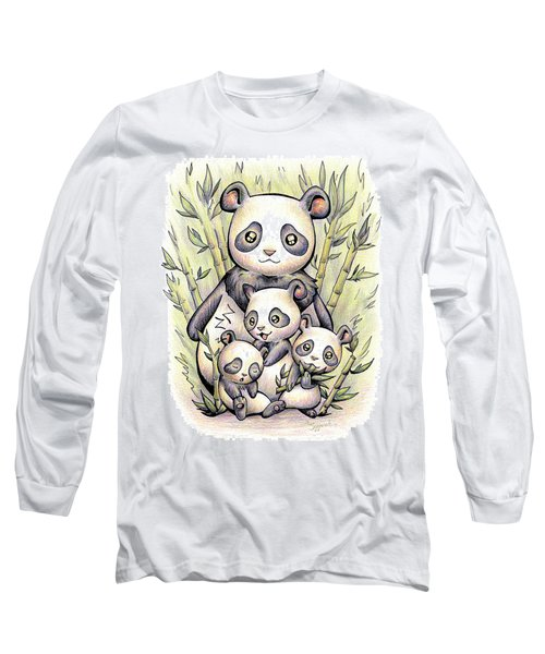 Endangered Animal Giant Panda Long Sleeve T-Shirt