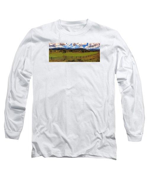 View Of The San Juans Long Sleeve T-Shirt by Rick Furmanek