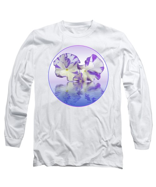 Pansy Reflections Long Sleeve T-Shirt