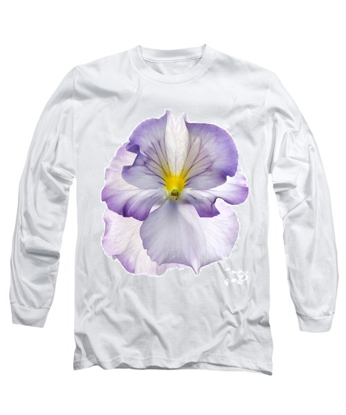 Pansy Long Sleeve T-Shirt by Tony Cordoza