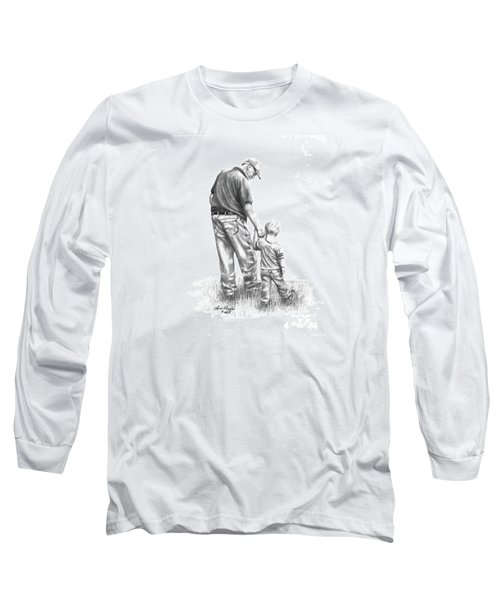 Papaw And His Sidekick Long Sleeve T-Shirt