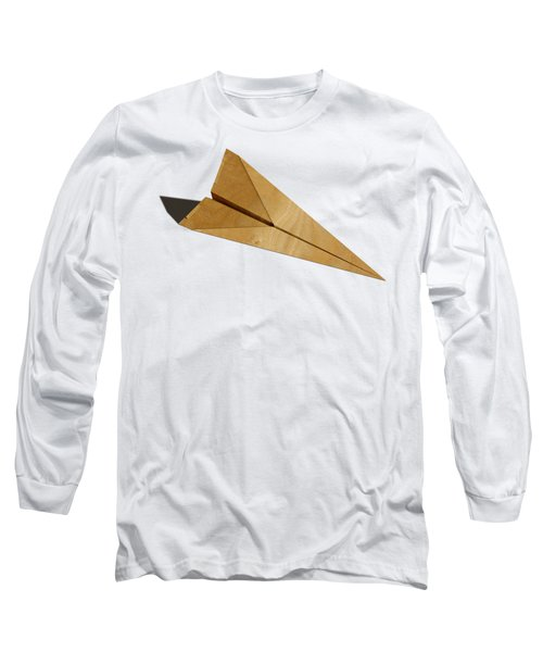 Paper Airplanes Of Wood 15 Long Sleeve T-Shirt by YoPedro