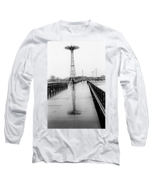 Parachute Jump In Rain Long Sleeve T-Shirt