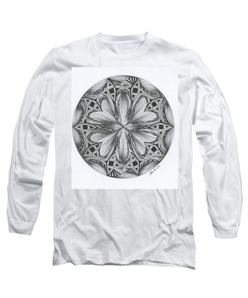 Paradoxical Zendala Long Sleeve T-Shirt by Jan Steinle