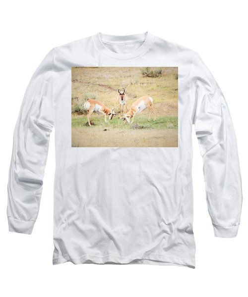 Parent Watching Sparring  Long Sleeve T-Shirt