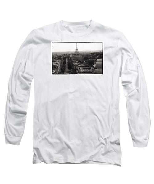 Paris 1966 Long Sleeve T-Shirt by Steve Archbold