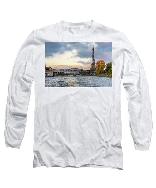 Paris 3 Long Sleeve T-Shirt