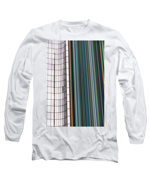 Paris Abstract Long Sleeve T-Shirt