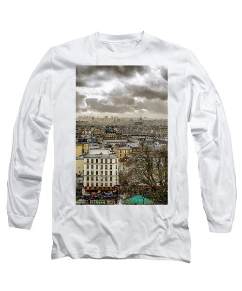 Paris As Seen From The Sacre-coeur Long Sleeve T-Shirt