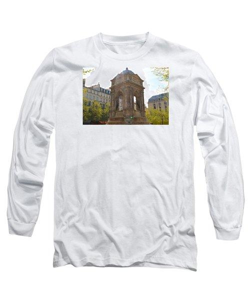 Paris Long Sleeve T-Shirt by Kaitlin McQueen