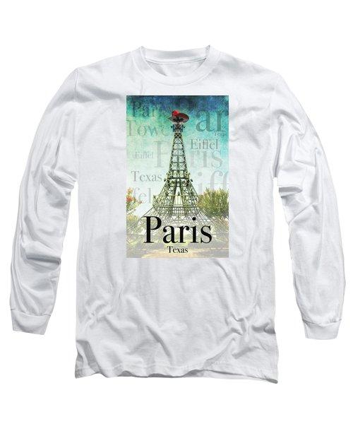 Paris Texas Style Long Sleeve T-Shirt