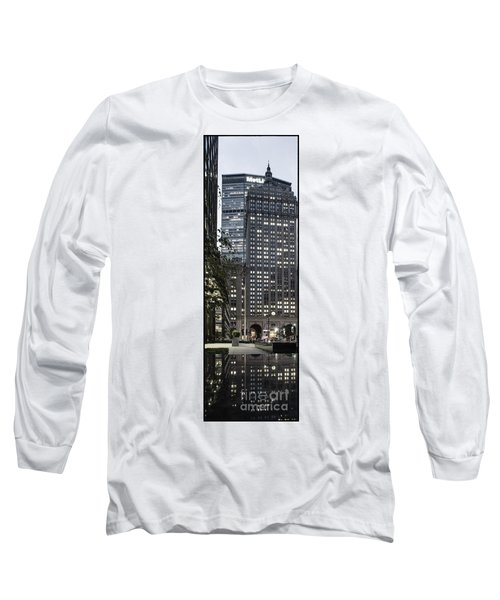 Long Sleeve T-Shirt featuring the photograph Park Avenue Met Life Nyc by Juergen Held
