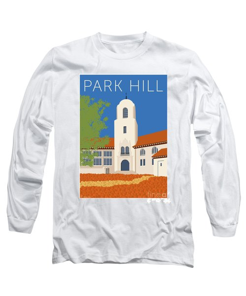 Park Hill Blue Long Sleeve T-Shirt