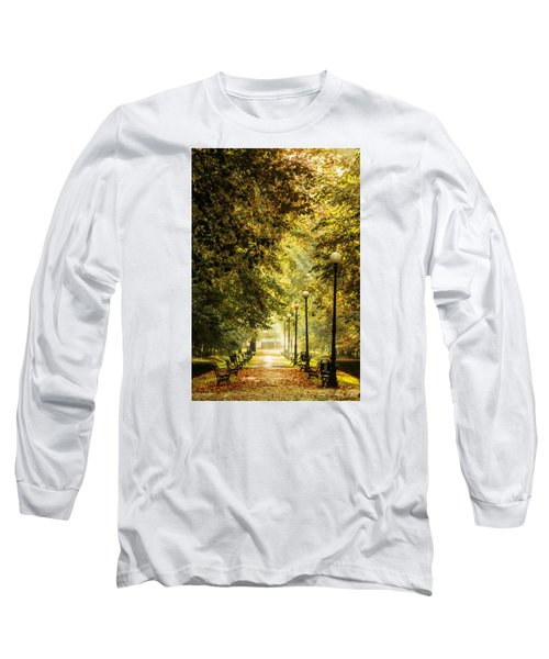 Park Lane Long Sleeve T-Shirt by Jaroslaw Grudzinski