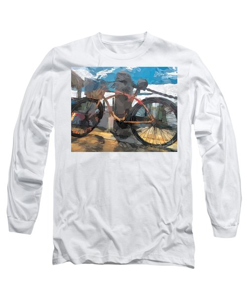 Parked At The Wharf Long Sleeve T-Shirt