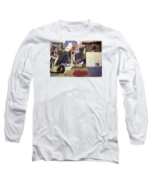 Part 2, Human Landscapes Long Sleeve T-Shirt