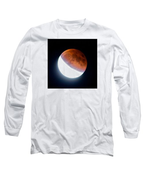 Partial Super Moon Lunar Eclipse Long Sleeve T-Shirt
