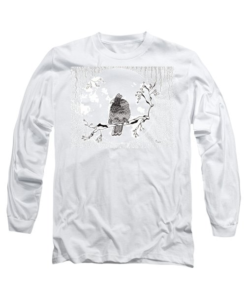 Party Time In Birdville Long Sleeve T-Shirt