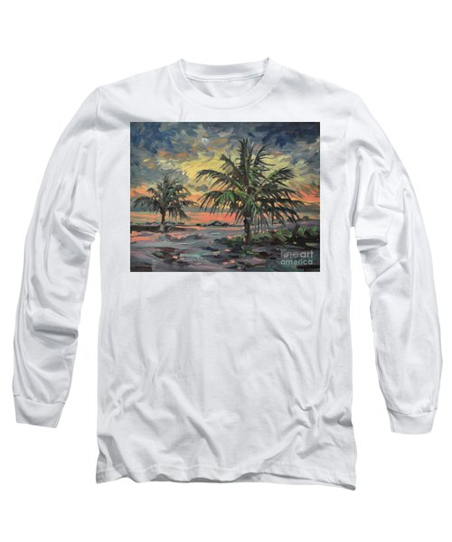Passing Storm Long Sleeve T-Shirt by Donald Maier